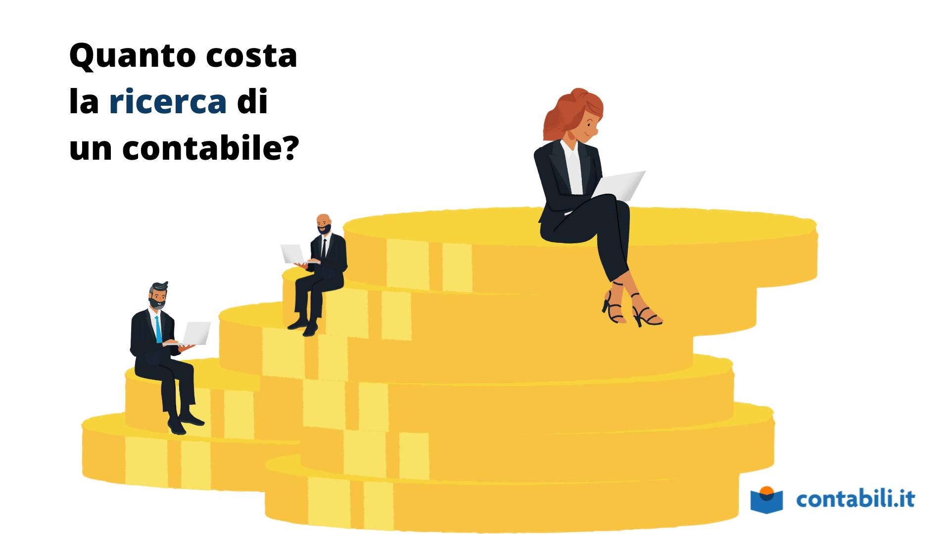 Quanto costa all'azienda la ricerca di un contabile?