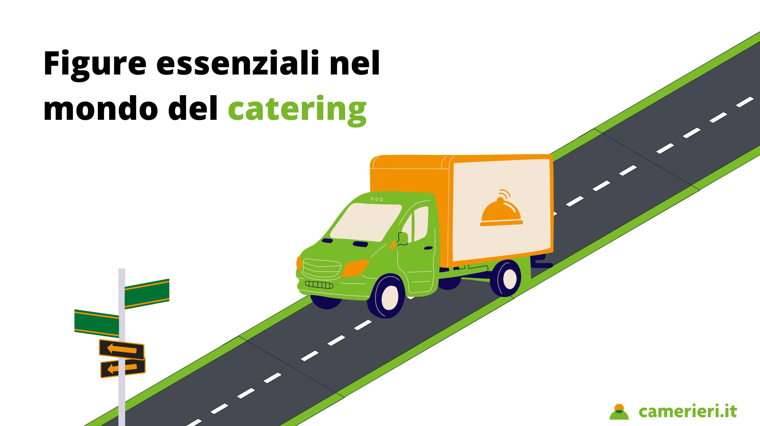 Figure essenziali nel mondo del catering