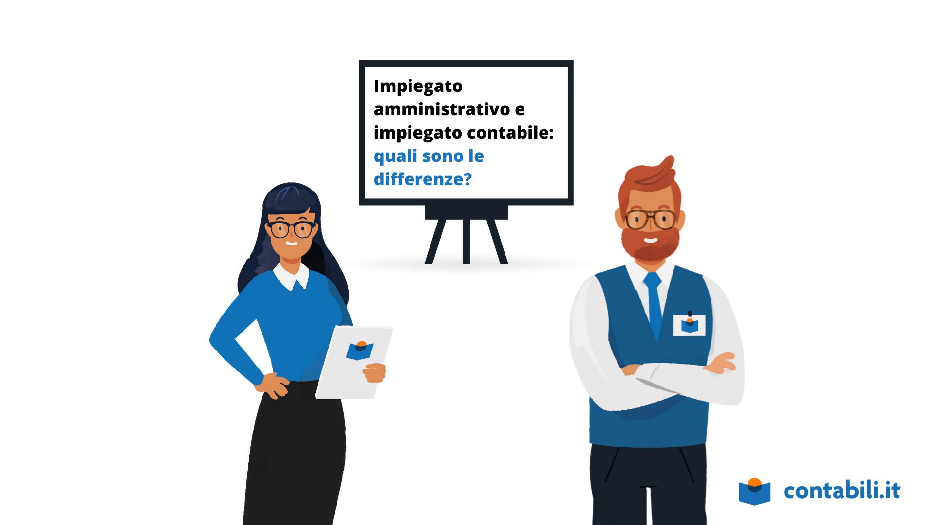 Differenza tra impiegato contabile e amministrativo