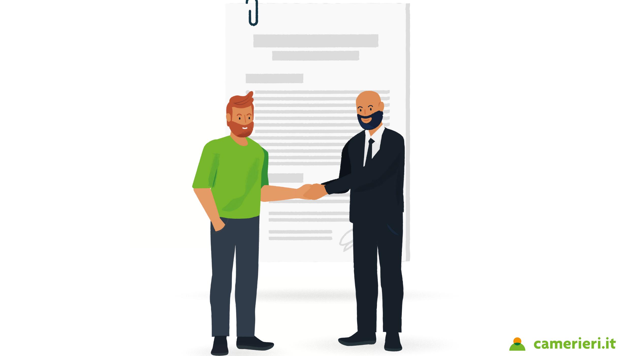 I contratti di lavoro nella ristorazione