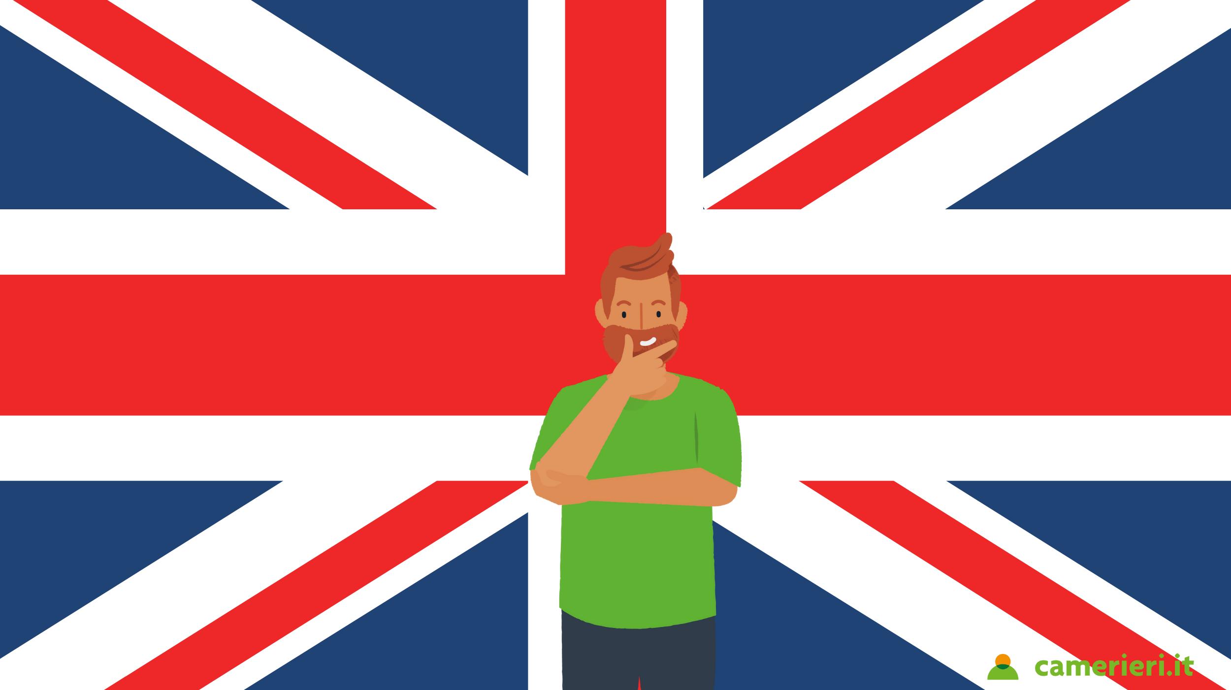 Lavorare come cameriere a Londra con la brexit