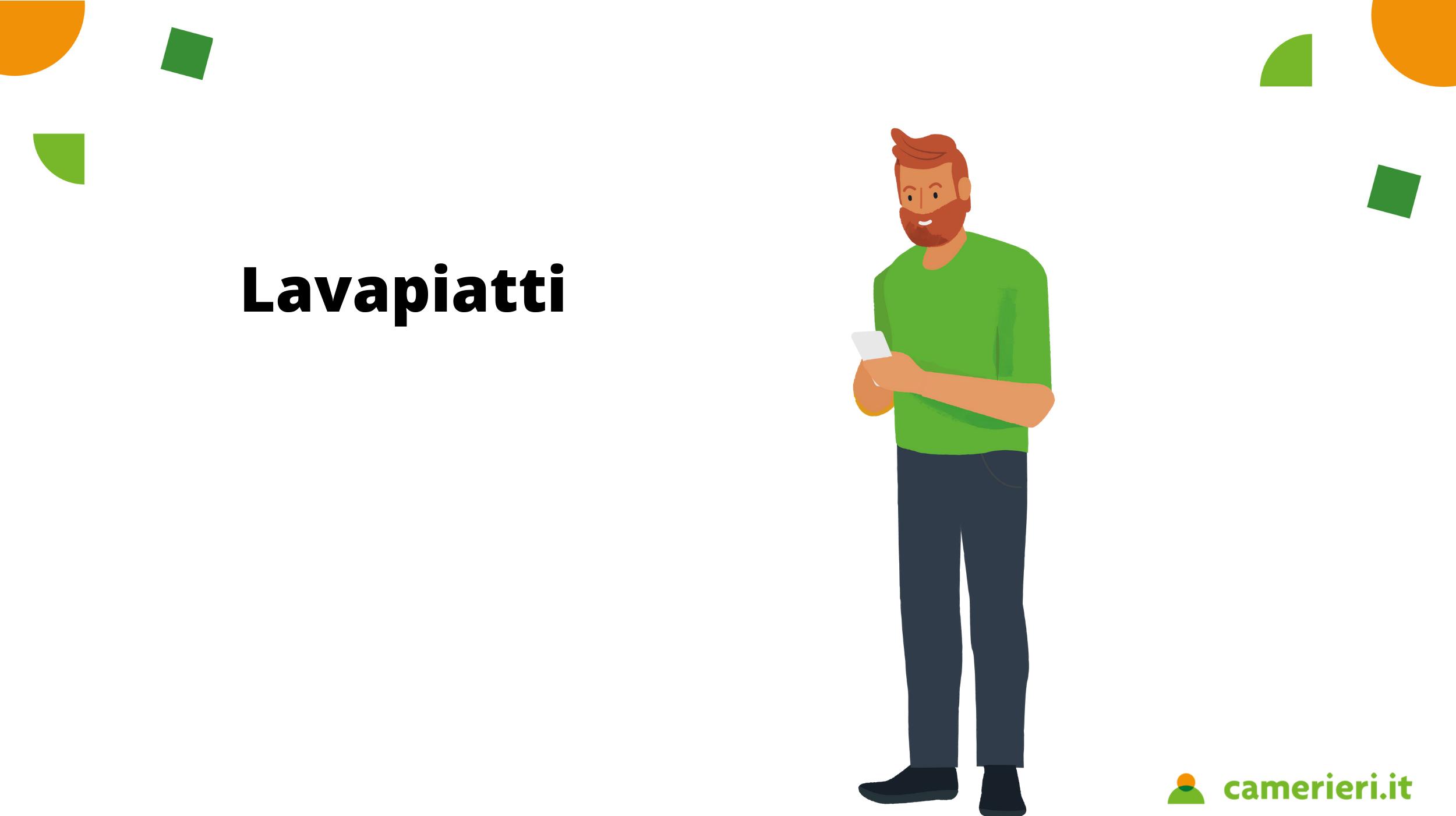 Stipendio lavapiatti in Italia: quanto guadagna e mansioni
