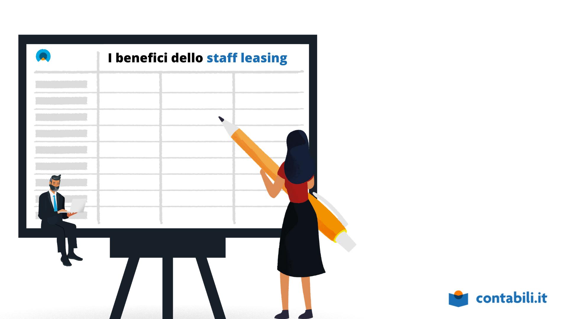 I benefici dello staff leasing in ambito contabile
